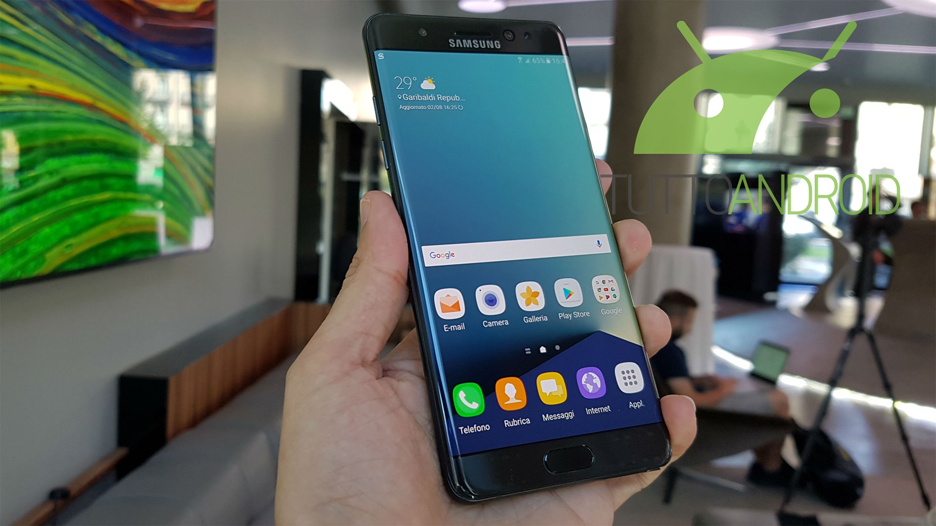Video Anteprima Samsung Galaxy Note 7 399920