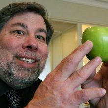 Steve Wozniak, the co-founder of Apple,  in Sydney today.