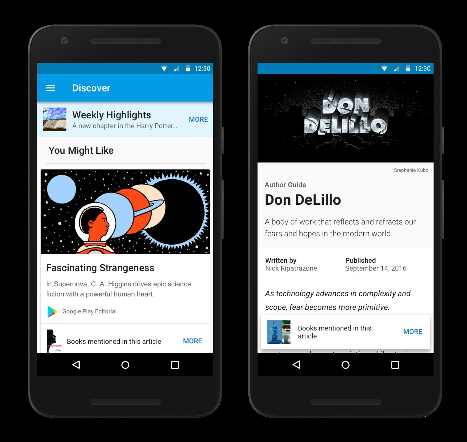 Google Play Books aggiunge la funzione Discover, per ora negli Stati Uniti