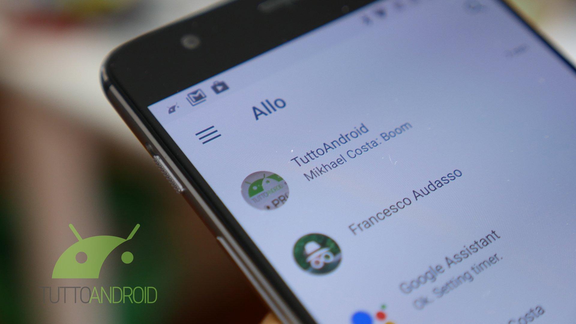 Uno degli sviluppatori di Google Allo potrebbe aver anticipato le novità in arrivo sull'app
