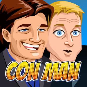Con Man: The Game, la serie di Alan Tudyk e Nathan Fillion arriva nel Play Store con un gioco manageriale