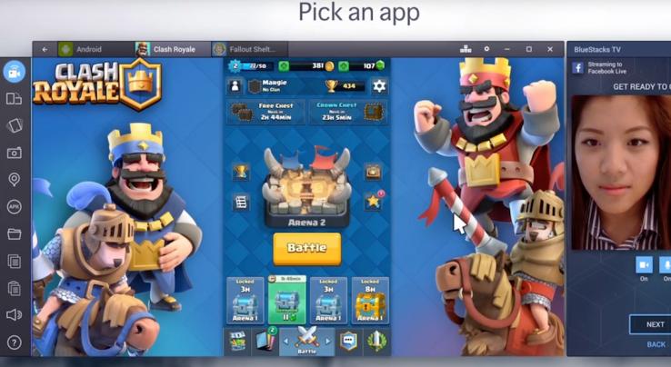 Facebook Live permette ora lo streaming dei giochi Android via PC