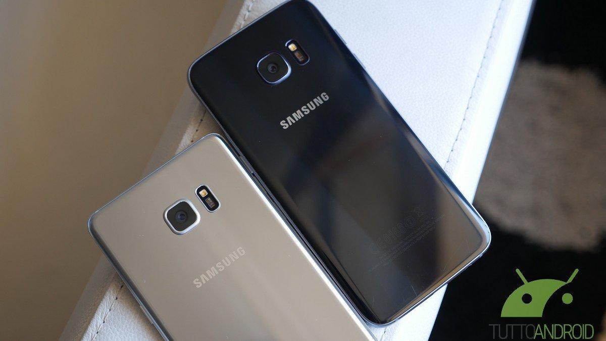 Samsung aggiorna l'Always on Display di Galaxy S7 e S7 Edge con tante novità