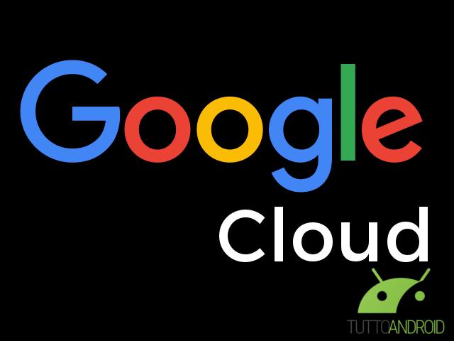 Nascono Google Cloud e G Suite