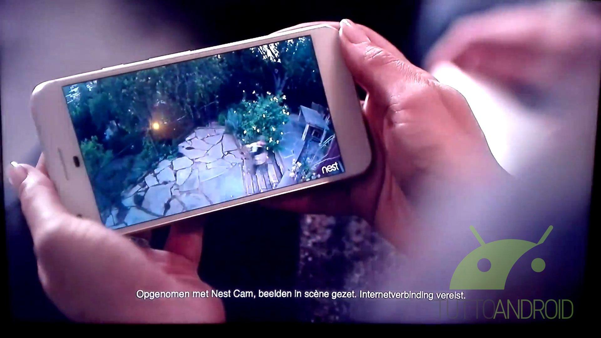 Nest potrebbe aver mostrato Google Pixel in uno spot pubblicitario
