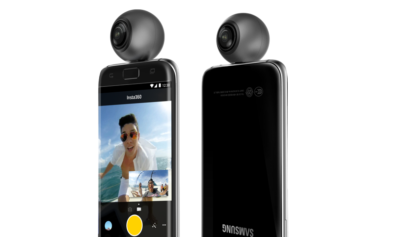 Insta360 permette di girare video VR con lo smartphone