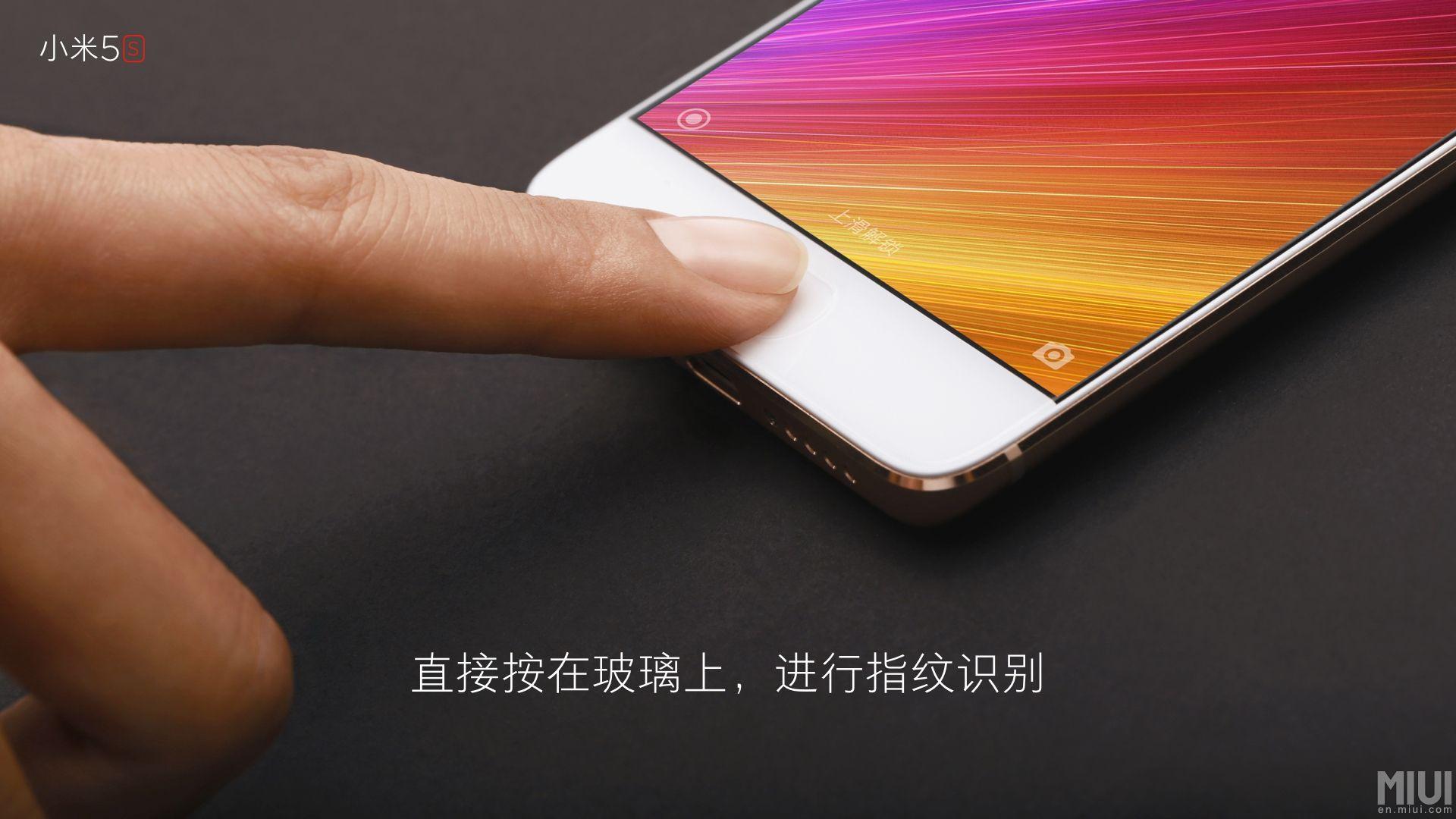 Xiaomi ci spiega perché il lettore ultrasonico di impronte di Mi 5S è visibile