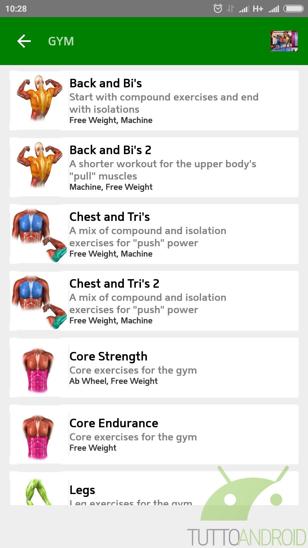 perdita di grasso e allenamento ab