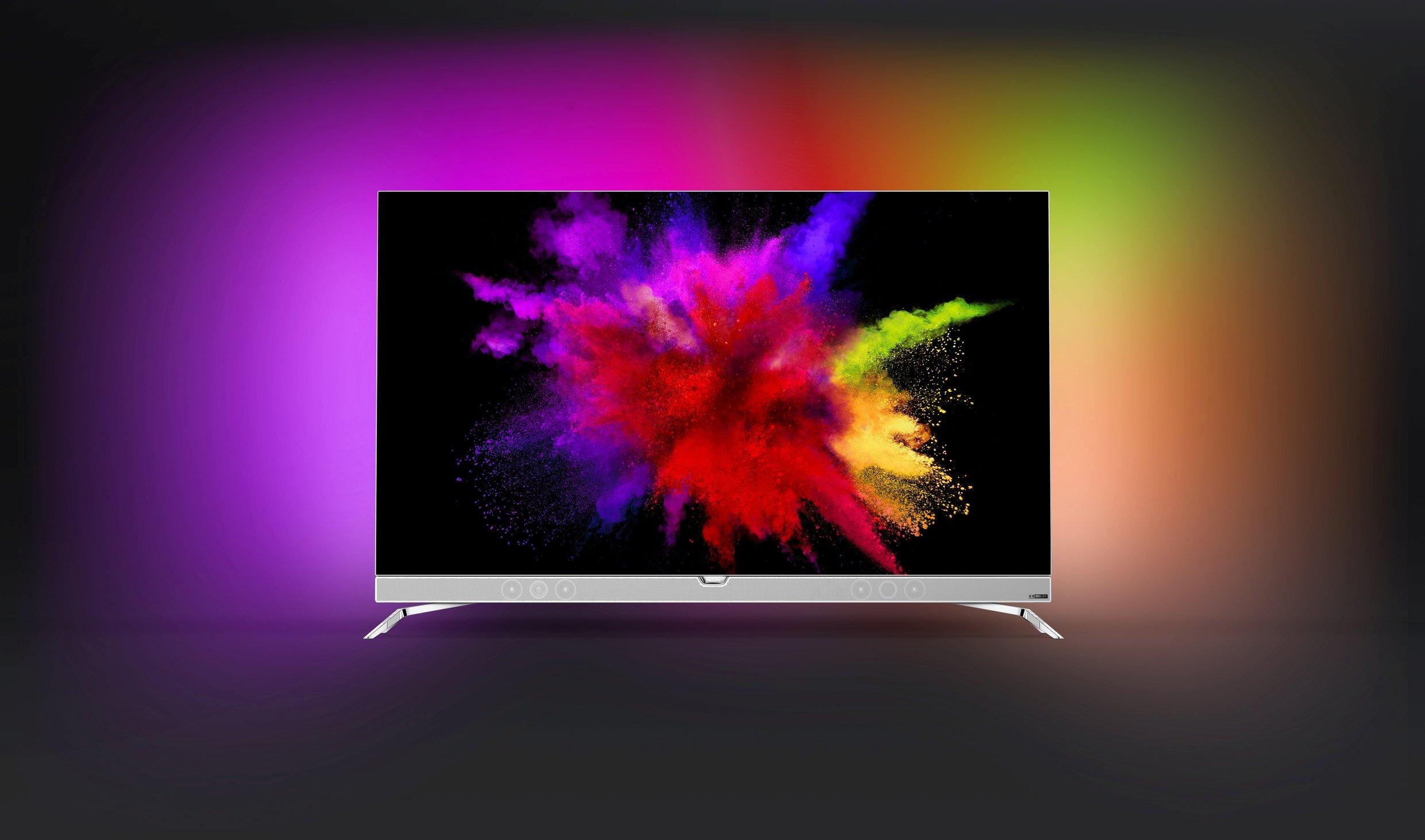 Philips presenta il primo TV OLED Ambilight: 55 pollici, Android TV e risoluzione Ultra HD