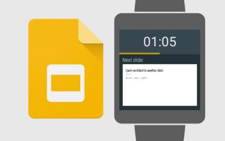 Presentazioni Google Android Wear