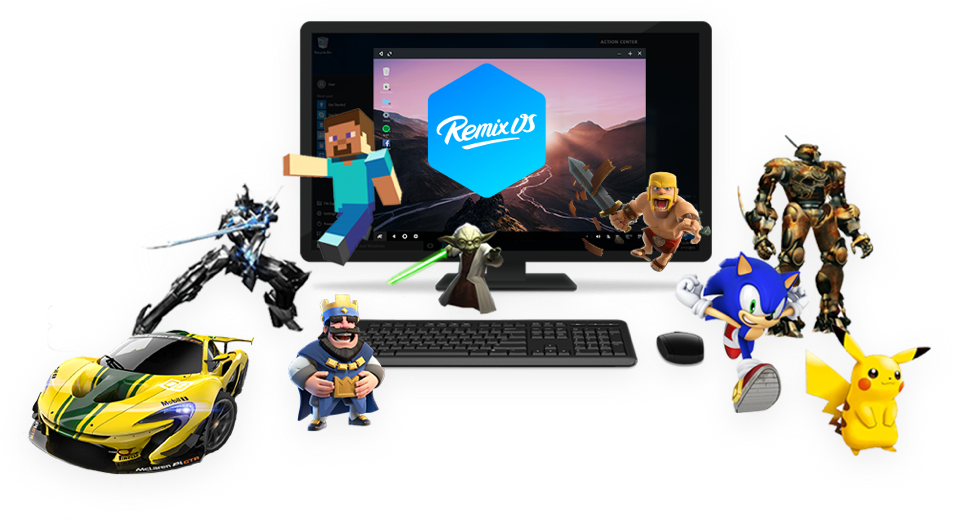 Jide presenta Remix OS Player, un emulatore Android per PC leggero e veloce