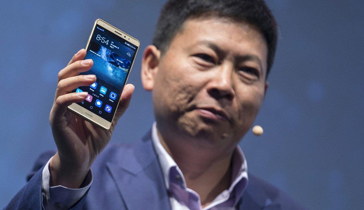 Richard Yu presenterà il prossimo flagship Huawei il 3 novembre a Monaco di Baviera
