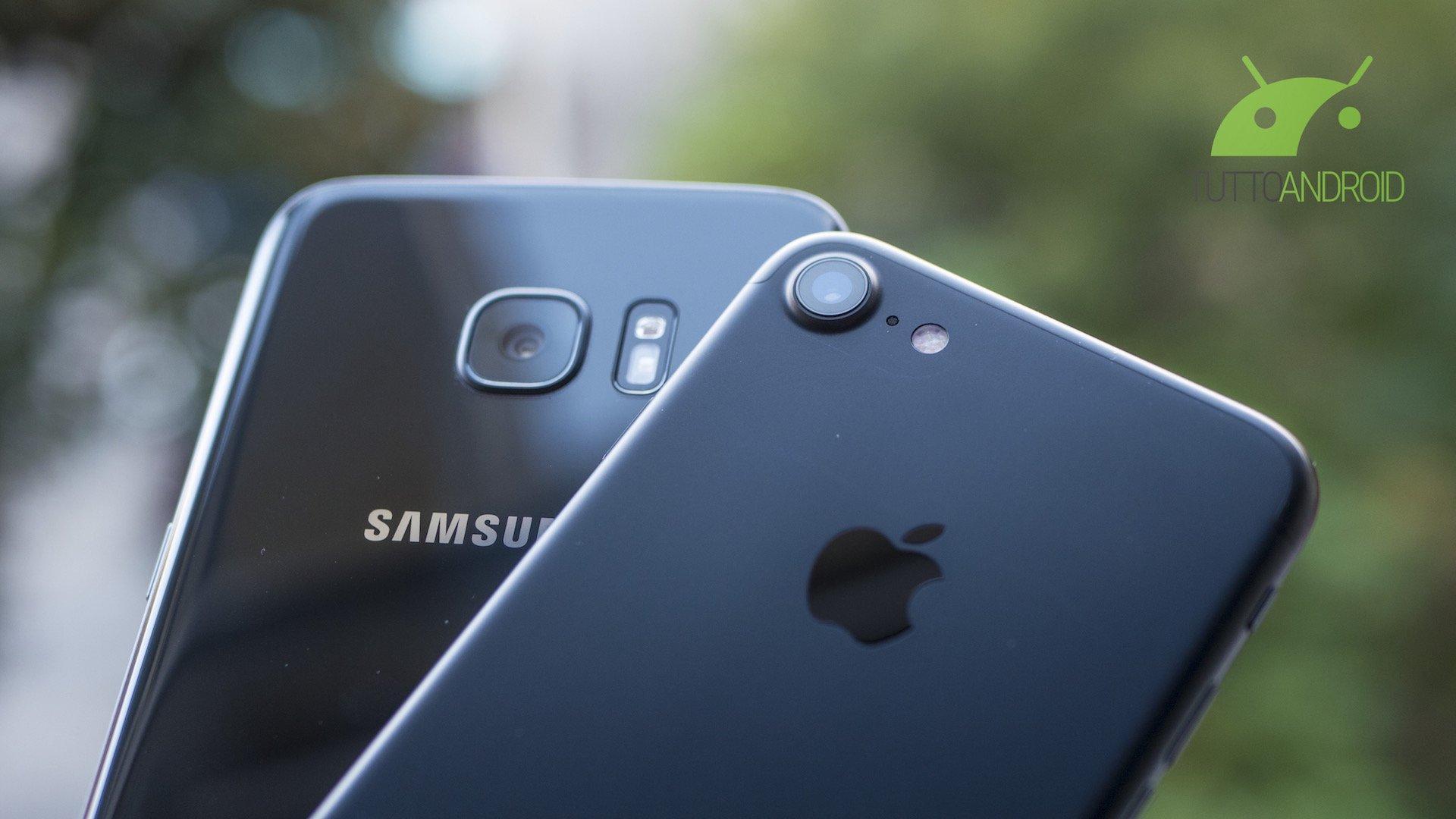 Samsung Galaxy S7 Edge sfida iPhone 7 in nuovi drop test e immersioni
