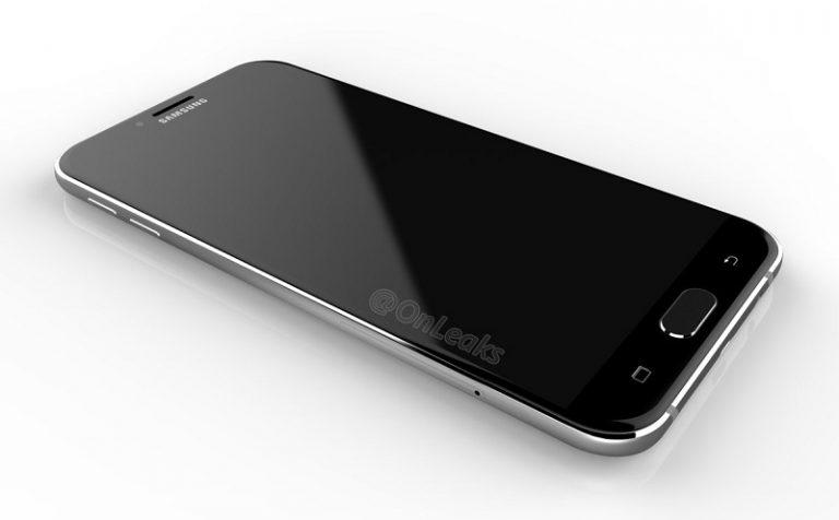 Samsung Galaxy A8 (2016) ricorda molto Galaxy S7 in questi presunti render