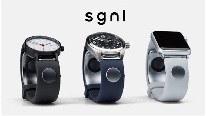 Sgnl, il cinturino che permette di telefonare con le dita, è su Kickstarter e ha già infranto gli obiettivi