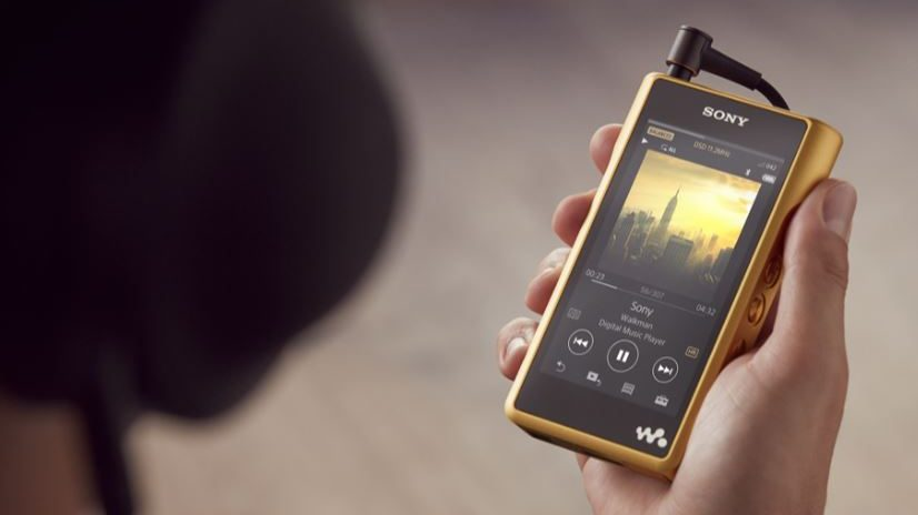 Sony Walkman MW-WM1Z è un player musicale con Android dal costo proibitivo