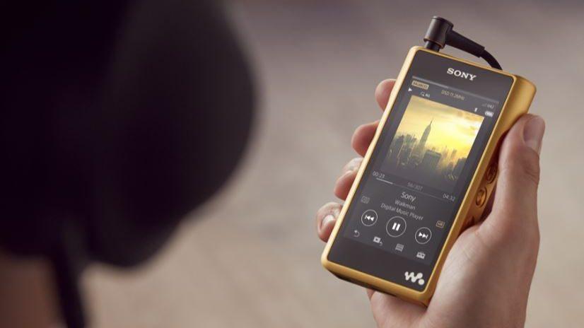 Sony Walkman MW-WM1Z è un player musicale con Android dal costo proibitivo