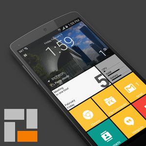 SquareHome 2 – Win 10 style applica l'interfaccia utente in stile Windows 10