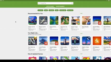 Andex nougat google play