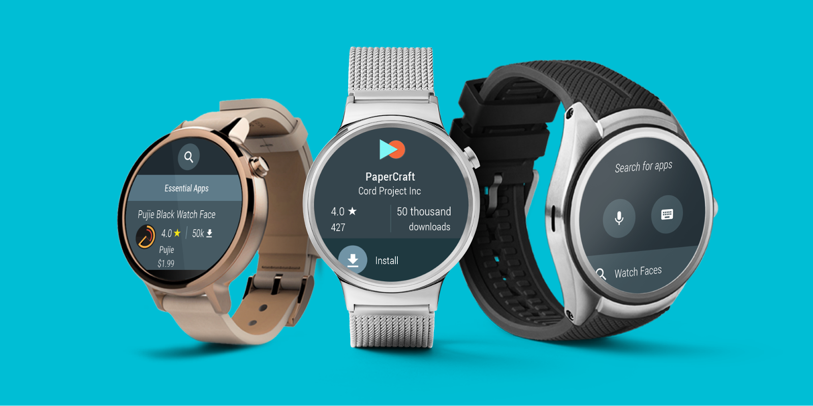 Google rilascia Android Wear 2.0 Developer Preview 3, con Play Store incorporato