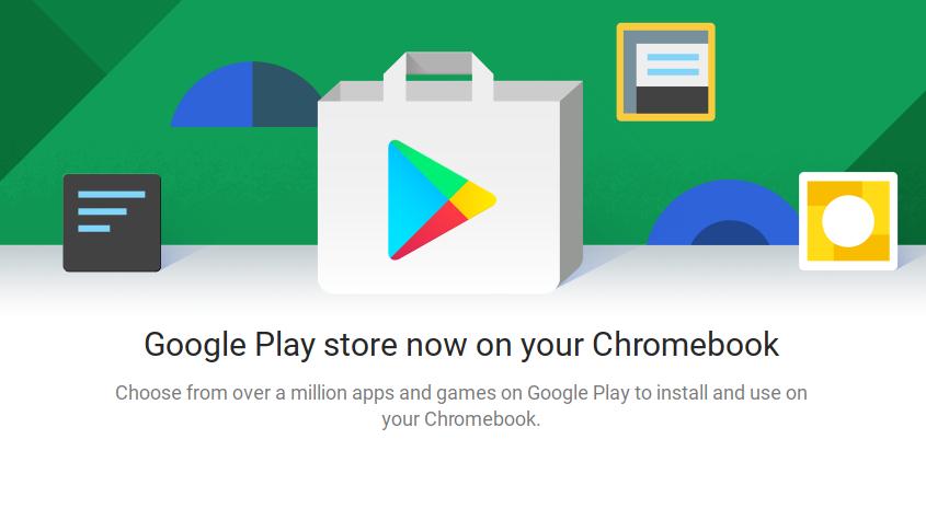 Google Play arriva sulla versione stabile di Chrome OS