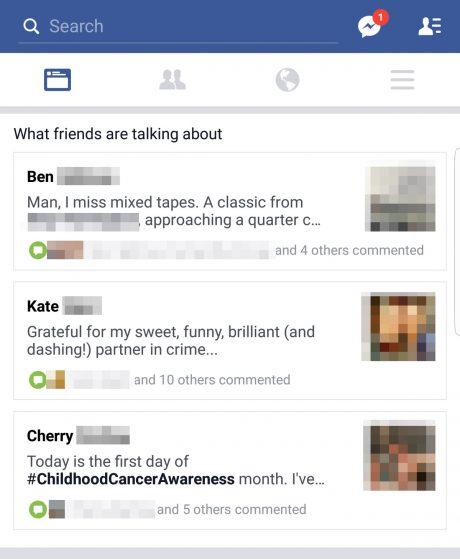 Facebook what friends
