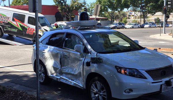 La Google Car coinvolta in un altro incidente