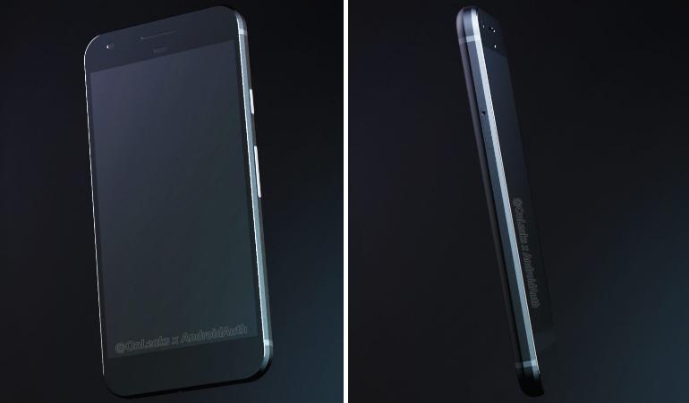 Google Pixel (HTC Sailfish): eccolo in nuove immagini e video render a 360 gradi