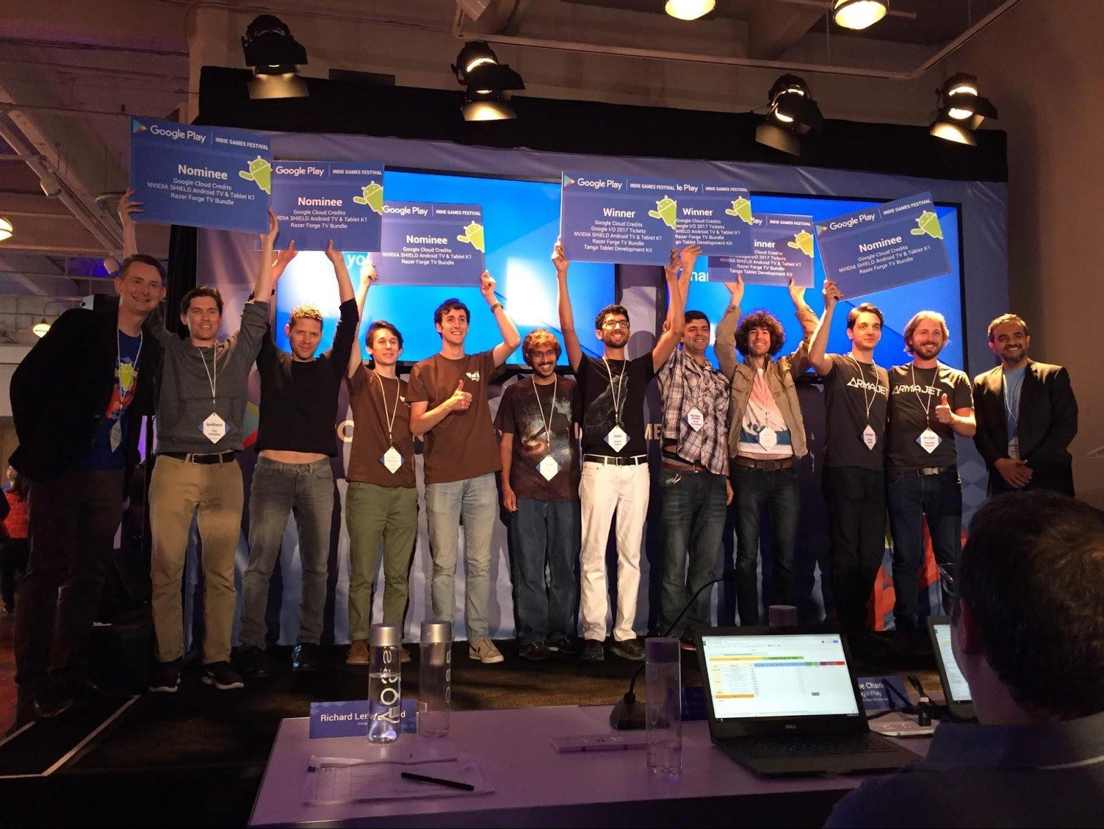 Google svela i vincitori del Google Play Indie Games Festival e annuncia l'arrivo in Europa