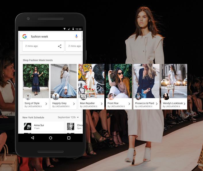 Google introduce Shop the Look, una scheda di abiti sponsorizzati per la ricerca web