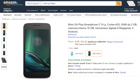 Moto g4 play amazon