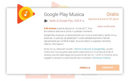 Play music 6 mesi gratis 1