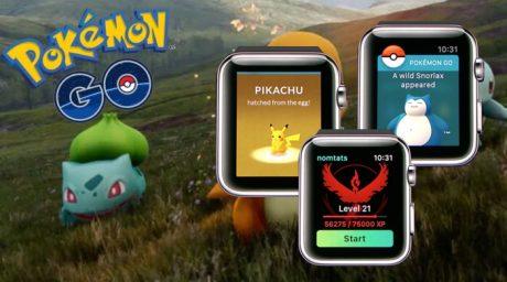 Pokemon go apple watch release