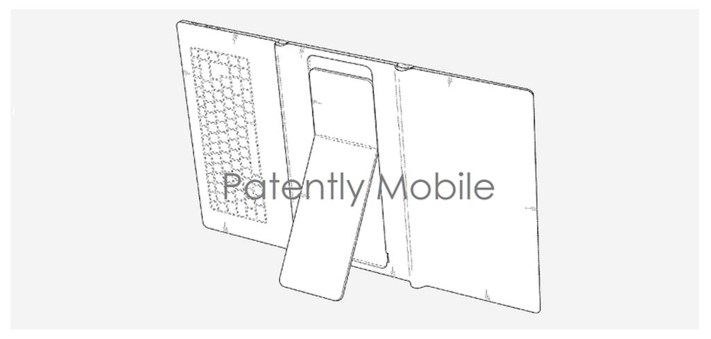 Samsung brevetta di nuovo un dispositivo pieghevole: questa volta è un tablet