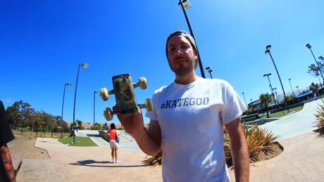 Skateboard galaxy s7 edge drill