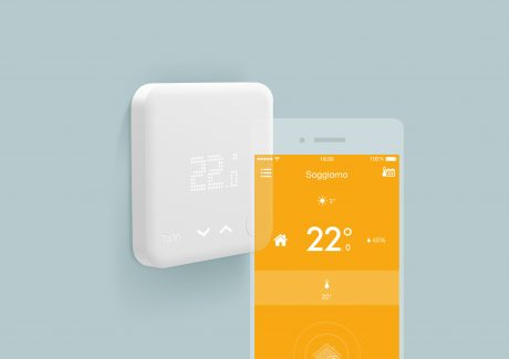 Smart thermostat and app