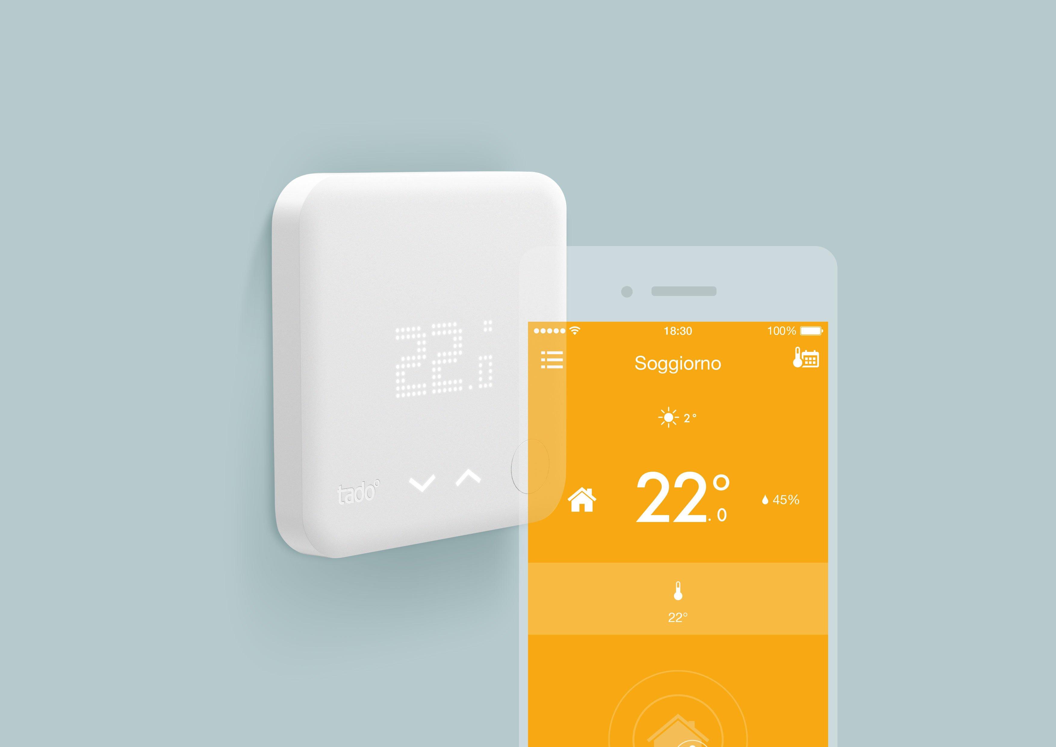 tado° presenta due nuovi prodotti IoT per il riscaldamento compatibili con Amazon Echo