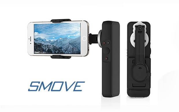Da Indiegogo arriva SMOVE, una steadycam per smartphone che fa anche da power bank