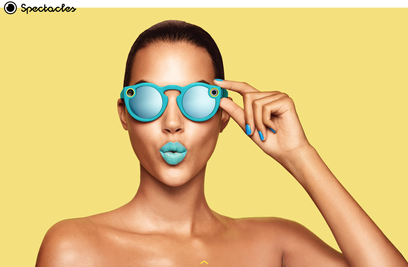 Snapchat presenta Spectacles, gli occhiali smart che catturano 10 secondi della vostra vita