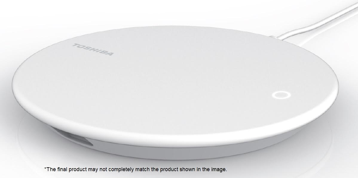 Toshiba presenta un dispositivo per il backup e la ricarica degli smartphone