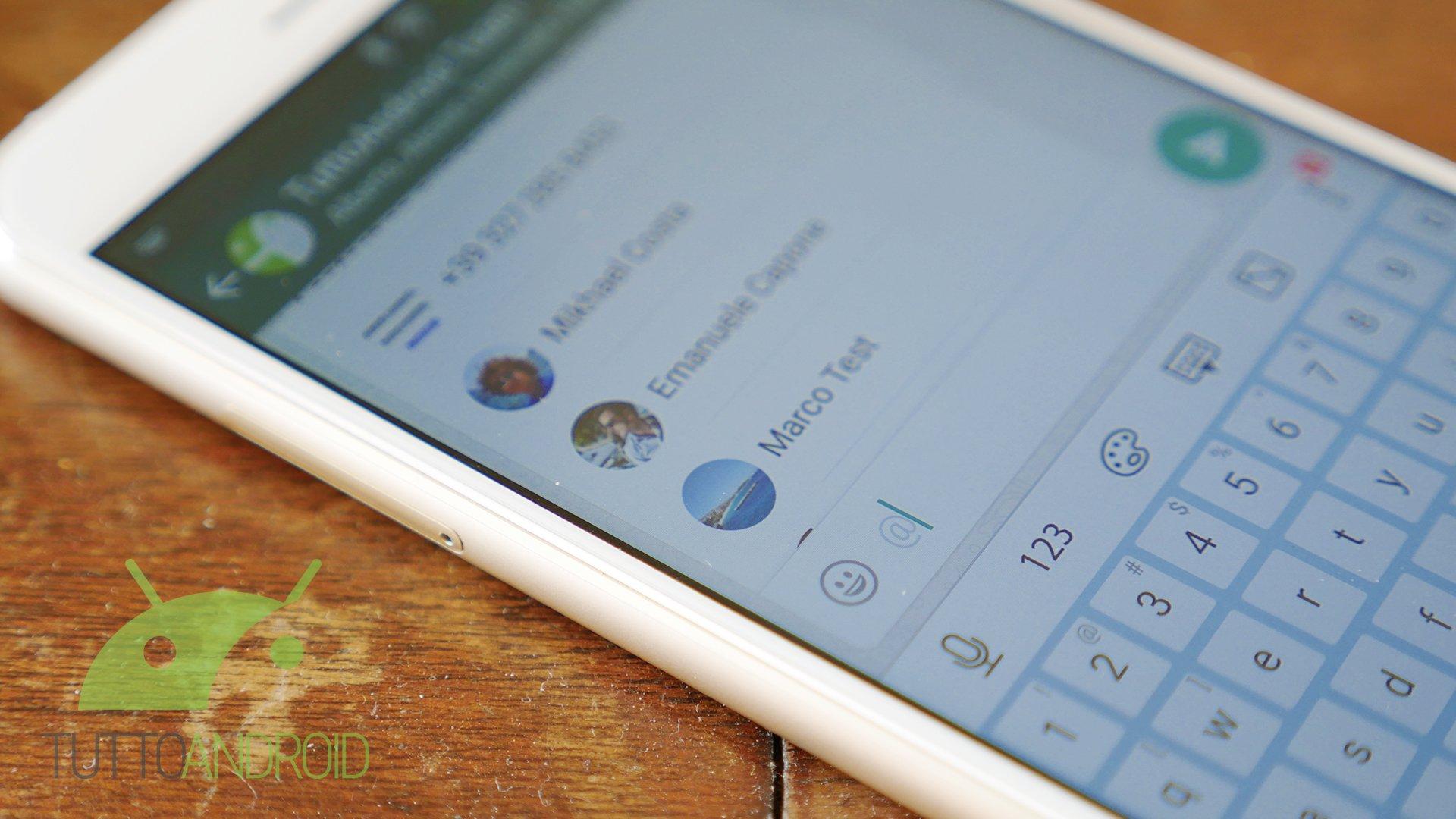 Whatsapp beta si aggiorna, introducendo delle novità per i gruppi