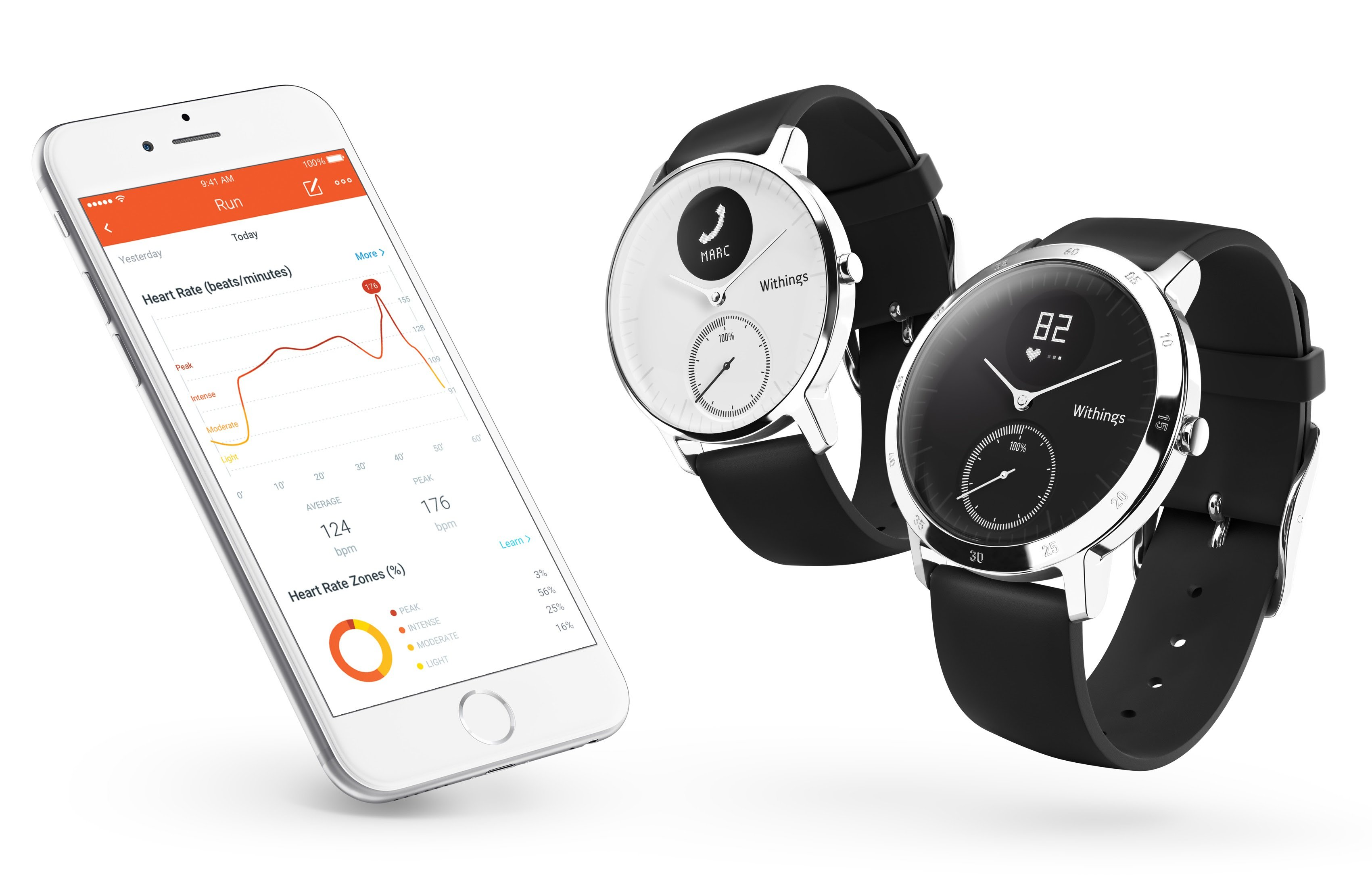 Withings introduce il rilevamento del battito cardiaco con lo smartwatch Steel HR
