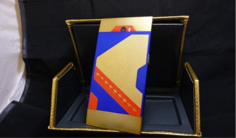 24K Gold Turing Phone