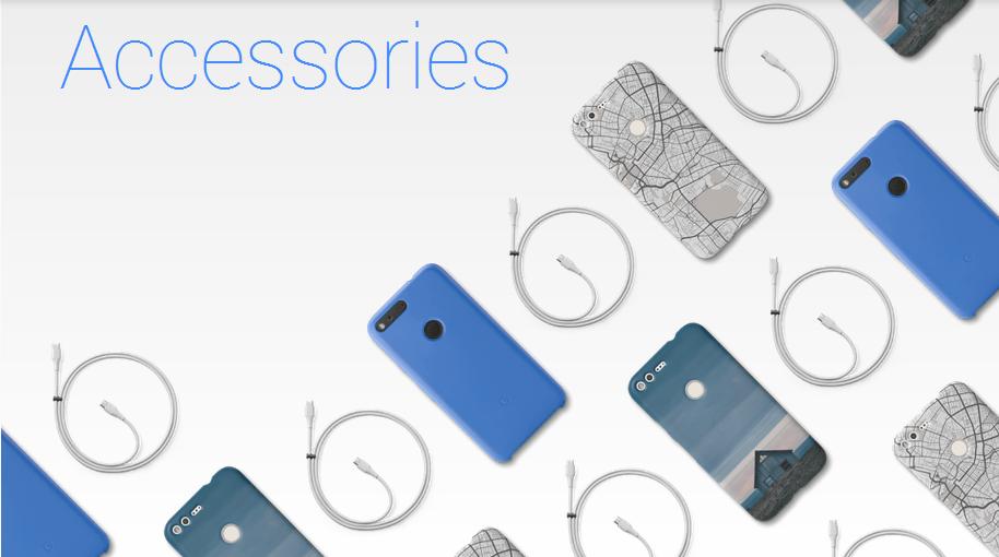 Ecco gli accessori ufficiali, custodie e cavi, dei Google Pixel e Pixel XL