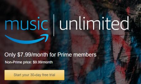 Amazon Music Unlimited 1