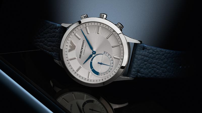 Emporio Armani entra nel mondo dei connected e lancia un hybrid smartwatch