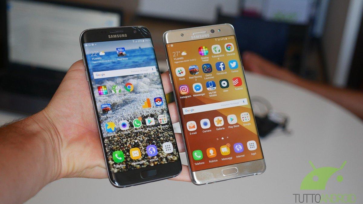 Samsung ancora regina degli smartphone nonostante il flop Note 7