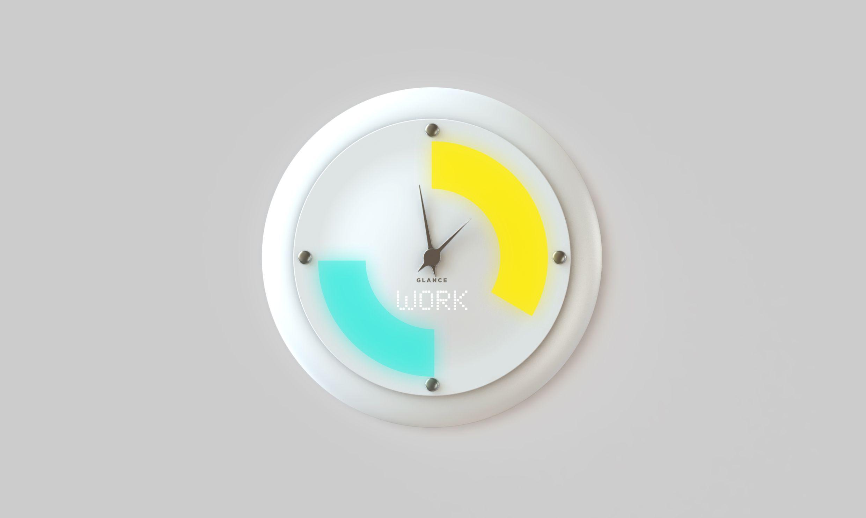 Glance Clock, l'orologio da parete che mostra le notifiche dallo smartphone