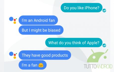 Google Assistant Apple