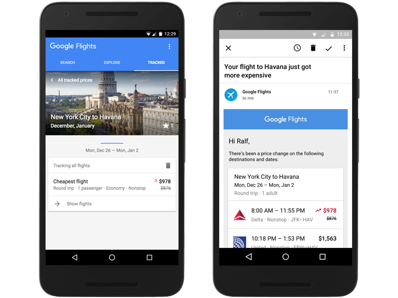 Google Flights, aggiornamento per i voli low cost